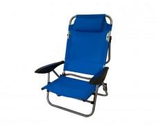 Καρέκλα παραλίας μεταλλική Xios