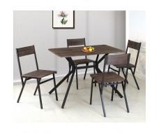 Dante σετ (τραπέζι + 4 καρέκλες)