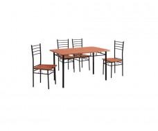 Vino σετ (τραπέζι + 4 καρέκλες)