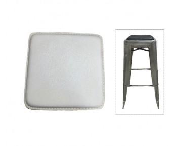 RELIX Κάθισμα για Σκαμπό, Μαγνητικό, Pvc Άσπρο