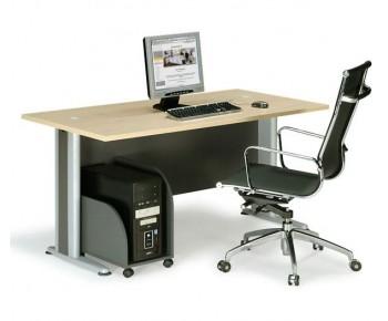 BASIC Γραφείο Απόχρωση Dark Grey - Beech
