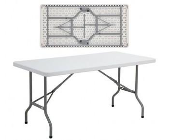 BLOW Τραπέζι Συνεδρίου Catering Πτυσσόμενο - Άσπρο