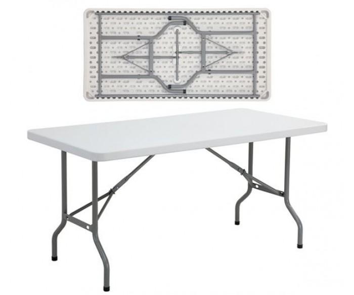 BLOW Τραπέζι Συνεδρίου Catering Πτυσσόμενο, Άσπρο