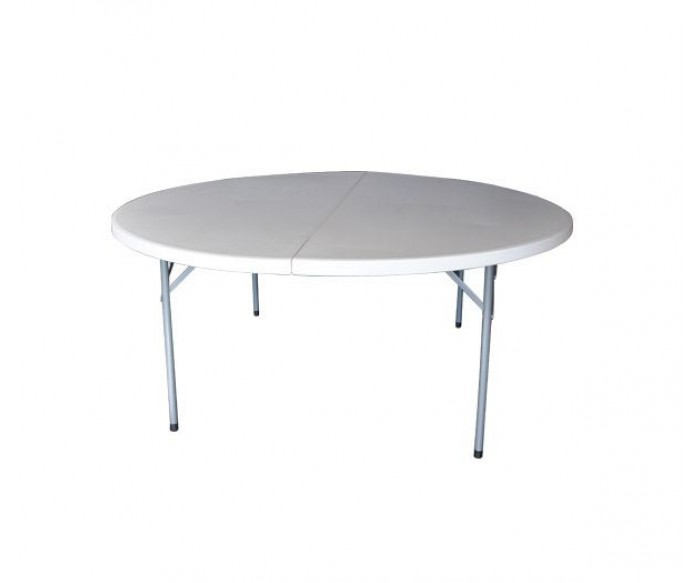 BLOW-R Τραπέζι Συνεδρίου Catering Πτυσσόμενο, Άσπρο
