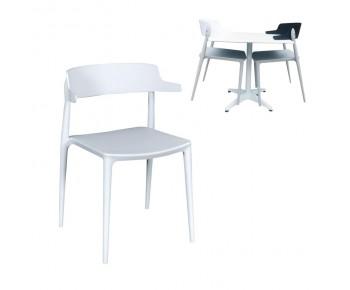 NADIA Καρέκλα PP Άσπρο