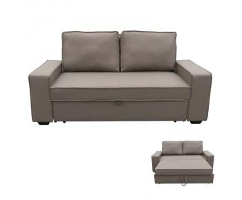 ALISON Καναπές - Κρεβάτι Σαλονιού - Καθιστικού  Nabuk Καφέ Mocha