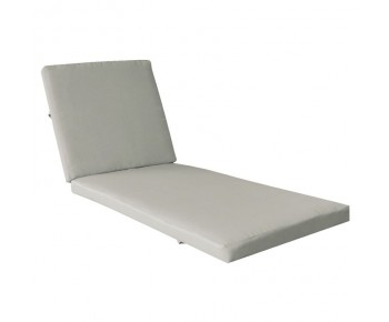 VERANO Μαξιλάρι Ξαπλώστρας Ύφασμα Sandy, Water Repellent Φερμουάρ - Velcro