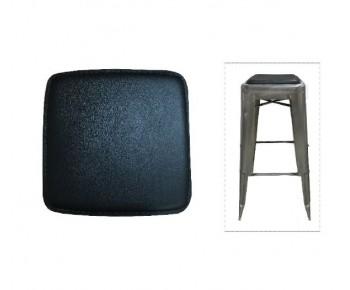 RELIX Κάθισμα για Σκαμπό, Μαγνητικό, Pvc Μαύρο