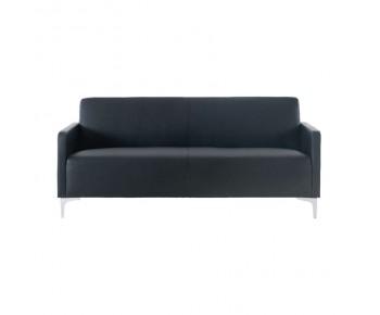 STYLE Καναπές Σαλονιού Καθιστικού 2Θέσιος - Pu Μαύρο K/D