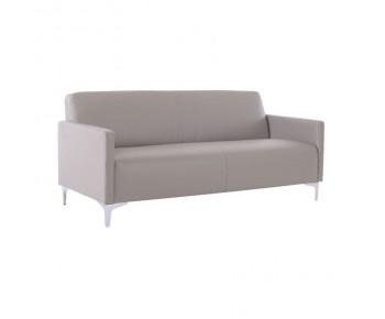 STYLE Καναπές Σαλονιού Καθιστικού 3Θέσιος - Pu Sand Grey K/D