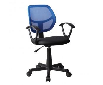 BF2740 Πολυθρόνα Γραφείου Mesh Μπλε - Μαύρο