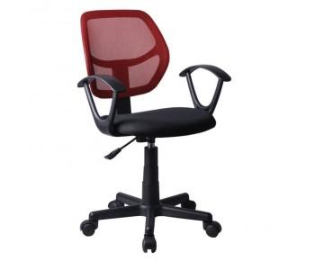 BF2740 Πολυθρόνα Γραφείου Mesh Κόκκινο - Μαύρο