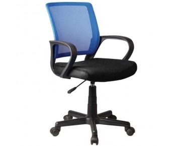 BF2010 Πολυθρόνα Γραφείου Mesh Μπλε - Μαύρο