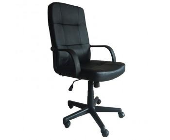 BF1000 Πολυθρόνα Διευθυντή PU Μαύρο