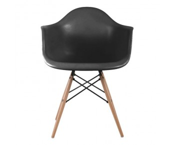 ALEA Wood Πολυθρόνα Ξύλο, ΡΡ Μαύρο