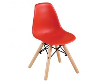 ART Wood Kid Καρέκλα Ξύλο - PP Κόκκινο