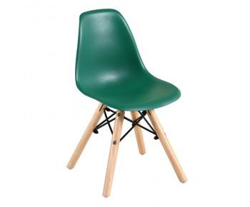 ART Wood Kid Καρέκλα Ξύλο - PP Πράσινο