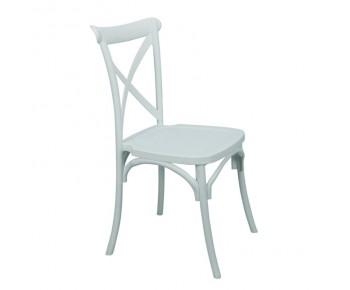 DESTINY Καρέκλα Πολυπροπυλένιο (PP) Άσπρο