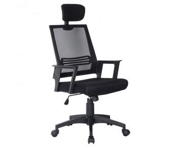 BF2008 Πολυθρόνα Γραφείου Διευθυντή - Mesh Μαύρο