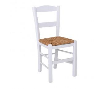 ΣΥΡΟΣ Καρέκλα Εμποτισμού Λάκα Άσπρο