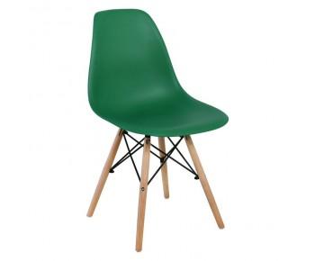 ART Wood Kαρέκλα Τραπεζαρίας Κουζίνας Ξύλο - PP Πράσινο