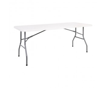 BLOW-W Τραπέζι Συνεδρίου Catering - Πτυσσόμενο Άσπρο