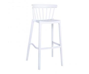 WEST Σκαμπώ Bar PP-UV Άσπρο