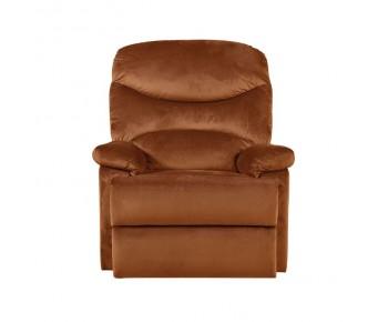 LUISA Πολυθρόνα Relax Σαλονιού - Καθιστικού Κεραμιδί Velure