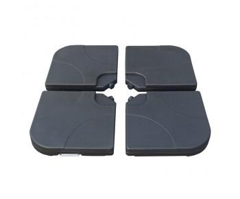 ΒΑΣΗ πλαστική 15L Ομπρέλλας HANGING (4τ πλάκες)