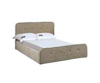 ACCORD Duo Κρεβάτι Διπλό Αποθηκευτικός Χώρος - Ύφασμα Μπεζ