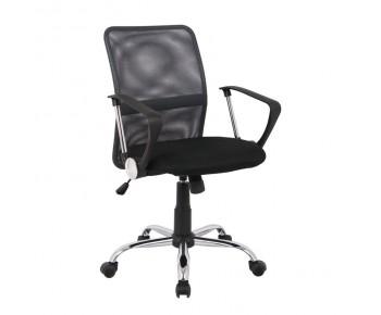 BF2009 Πολυθρόνα Γραφείου Mesh Ανθρακί  - Μαύρο