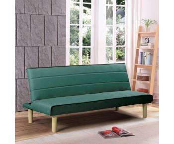 BIZ Καναπές - Κρεβάτι Σαλονιού Καθιστικού - Ύφασμα Πράσινο
