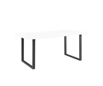 LIZARD Βάση Τραπεζιού Set 2 τεμαχίων 75x6 H.73cm Μέταλλο Μαύρο