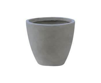 FLOWER POT-3 Cement Grey Φ35x32cm