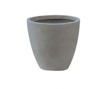 FLOWER POT-3 Cement Grey Φ44x37cm