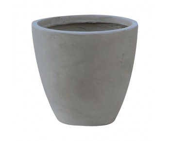 FLOWER POT-3 Cement Grey Φ53x47cm