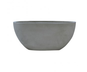 FLOWER POT-4 Cement Grey 76x34x32cm