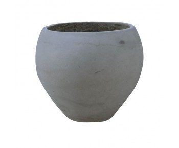 FLOWER POT-5 Cement Grey Φ55x40cm