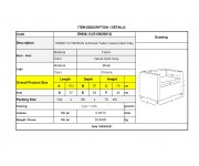 PARSON Πολυθρόνα Σαλονιού - Καθιστικού, Ύφασμα Velure Απόχρωση Σκούρο Γκρι