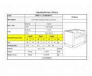 OXFORD Πολυθρόνα Σαλονιού - Καθιστικού, Ύφασμα Velure Απόχρωση Ice